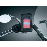 Držák mp3, telefonu nebo navigace na řídítka motocyklu od Kuryakyn 4127