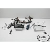 02 Harley Electra Glide ALPINE CD Player XM Satellite Radio & INTERCONNECT used