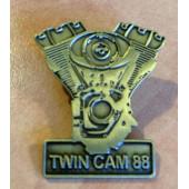 Kovový odznáček Twin Cam 88 Harley 3x3,5cm