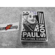 Hrací karty Hard Rock Paul Son použité v kasinu