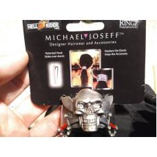 Ozdoba gumičky vlasů Lebka Hair Ringz edice Michael Joseff