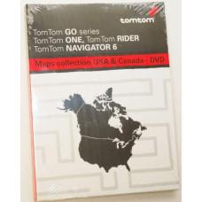 GPS TomTom mapy USA a Kanada DVD Software