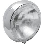 "E-marked Chrome Headlight for Harley Davidson Softail Electra 7"""