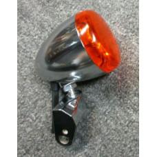Harley Davidson OEM Chrome Front Turn Signal 68972-00 Softail, Dyna, XL 68972-00 used