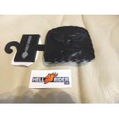 Přezka Harley Davidson -  kožená spona na pásek, orel, nová
