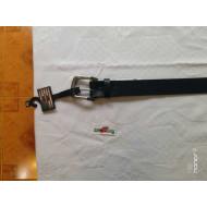 """Harley-Davidson Mens Black Leather Belt Metal Font, 38"""",40"""""""