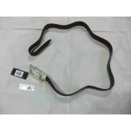 """Harley-Davidson Mens Grind Reversible Leather Belt HDMBT10834-BBR size 42"""""""