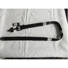 Černý kožený pásek Harley Davidson, HDMBT10707