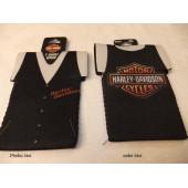 Harley Davidson izolační obal na láhev od piva