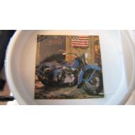 Nostalgický plakát Harley Davidson