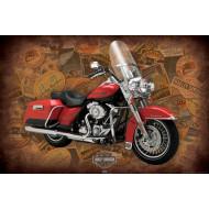 Harley Davidson (Road King) Poster