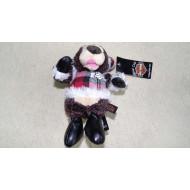 Harley Davidson plyšák - vánoční medvídek 13cm