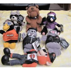 Harley Davidson plush toy animal - various