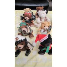Harley Davidson plush toy bears