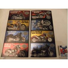 Harley Davidson Valentýnské přáníčko 4ks Rev it Up 2