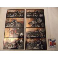 Harley Davidson Valentýnské přáníčko 4ks Rev it Up
