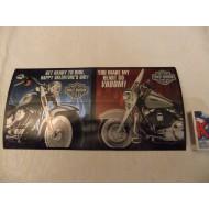 Harley Davidson Valentýnské přáníčko Get ready to ride 2
