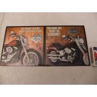 Harley Davidson Valentýnské přáníčko Get ready to ride