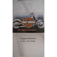 Přání Harley Davidson k novému přírůstku