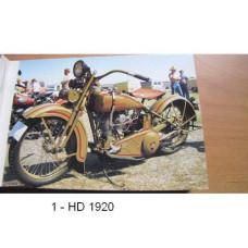 Retro pohledy Harley Davidson - výběr ze 30-ti druhů