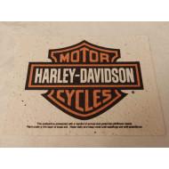 Harley-Davidson ekologická pohlednice