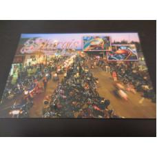 Harley sraz Sturgis - Motor Classic pohlednice