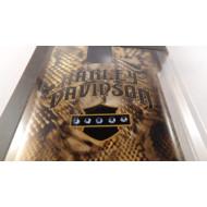 Harley Davidson pouzdro na mobil Samsung Galaxy S5 - hadí kůže