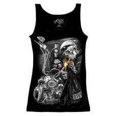 Biker Ride or Die Women's tank top Shirt - Freedom