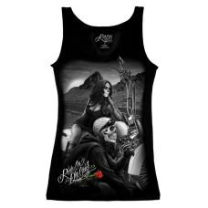 Biker Ride or Die Women's tank top Shirt - Highway to Hell