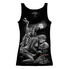 Biker Ride or Die Women's tank top Shirt - Lovers