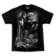 Motorkářské pánské triko Ride or Die - Biker Babe