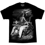 Motorkářské pánské triko Ride or Die - Dead End