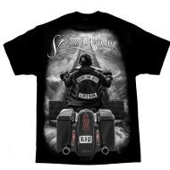 Motorkářské pánské triko Ride or Die - Stairway to Heaven