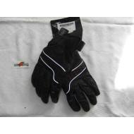 Harley Davidson Women's Leather Gloves, Black, size L