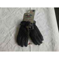 Harley Davidson Womens Leather Gloves, Brown, size S, XL 98368-17EW