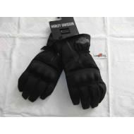 Harley Davidson dámské černé látkové rukavice Harley Davidson, velikost 3XL