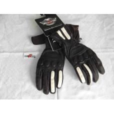 Harley Davidson Mens Leather Gloves, Black, size M