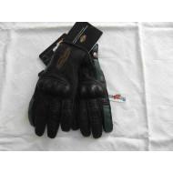 Harley Davidson Mens Leather Gloves, Black, size S,M,XL