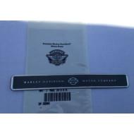 Harley Davidson name plate tourpak emblem H-D Motor Company