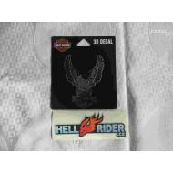 Harley-Davidson Decal Eagle