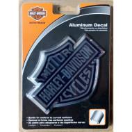 Harley-Davidson Bar&Shield Chrome Logo 3D Emblem Decal