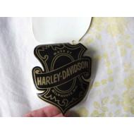 Harley Davidson samolepka na sklo Milwaukee - D11120 16x11cm