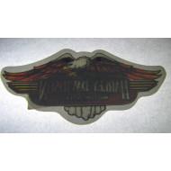 Harley Davidson samolepka na sklo 11x5cm - orel D81821