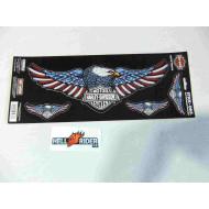 Harley-Davidson samolepka Eagle 4 Pc