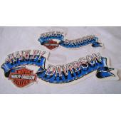Harley Davidson Banner Decal - various