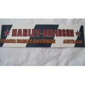 Harley Davidson Australia Decal #2