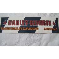 Harley Davidson Austrálie samolepka #2