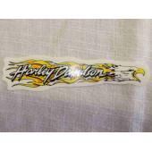 Harley Davidson samolepka orel s plameny