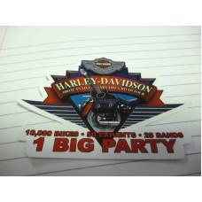 Harley Davidson 100th sticker 1 Big Party