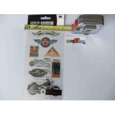 Harley Davidson -  Decal Sticker - HDFL10   - 8 Pc